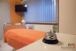 pokój dla pacjentów alma medica